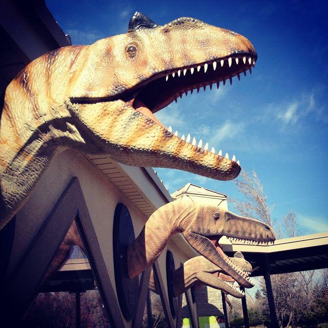 Things to do in Utah.  Dinosaur Park in Ogden Utah | The Salt Project | Things to do with kids in Utah