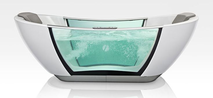 Smarthydro  |  What makes this bathtub special is that it incorporates a very advanced control system. You can set the exact temperature of the water, and will be alerted when the desired temperature has been reached. What's more, the tub also has a Keep Warm function, which will keep the water's temperature at a constant level. Additional features include a self-cleaning system and several connectivity options. You can even activate its functions from your smartphone and monitor in real…