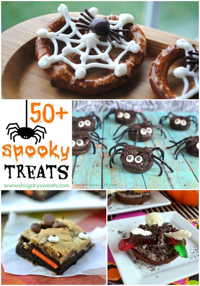 50+ Spooky Halloween Treat recipes!!