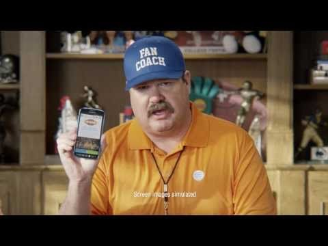 AT&T presents their new social media campaign, which encouraged people to twit, or use instagram or Vine, and use the hashtag #bethefan to win a VIP trip to ESPN college game day. Its very straight forward and easy to take part in the competition to win the prize.