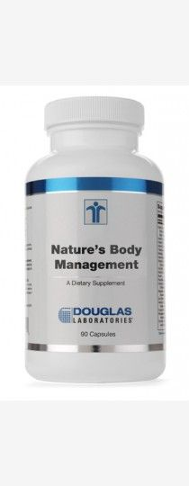 Nature's Body Management by Douglas Laboratories..Nature's Body Management, provided by Douglas Laboratories, is a combination of Garcinia cambogia and chromium, formulated in a base of special herbs, specifically designed to support sensible #weight management programs such as those involving consistent, moderate dietary restriction and regular exercise.
