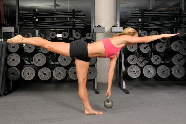 Kettlebell Training                       An all-in-one cardio and strength-training workout that can burn up to 20 calories a minute.