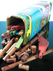 Lincoln Logs Wooden Construction Set #vintage #toys #woodenblocks