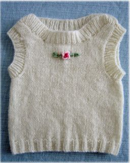 Cute envelope neck singlet for a new baby