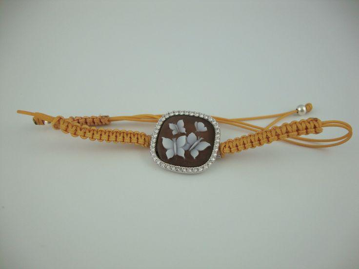 coloured bracelet