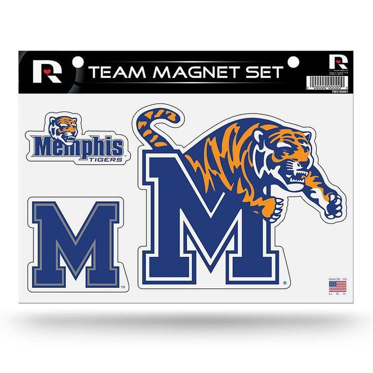 Memphis Tigers Team Magnet Set, Multicolor