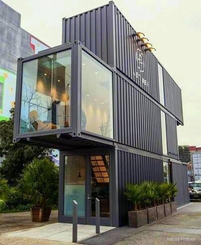 ¿Qué tal esta propuesta arquitectónica? Contenedores convertidos en casas, una forma de vivir #eco.