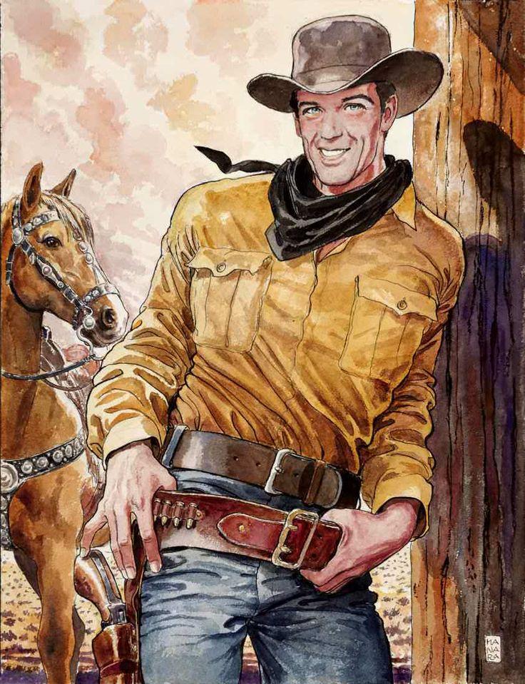 Tex Willer by Milo Manara