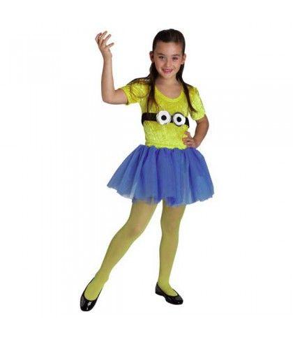 Μίνιον κορίτσι στολή μοδάτη με φουστίτσα