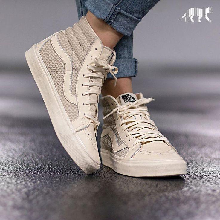 sneakers femme vans sk8 hi snake leather asphaltgold sneakerstore zapatos pinterest. Black Bedroom Furniture Sets. Home Design Ideas