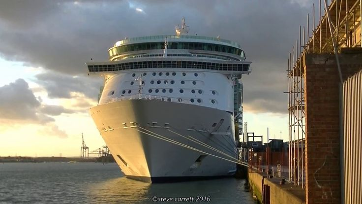 awesome Navigator of The Seas departs for Boston United states from Southampton ten/11/2016