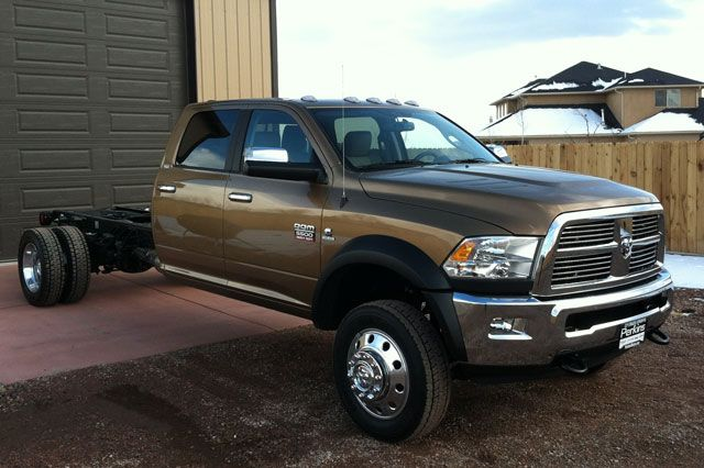 Ultimate Off Road Camper 5500 Chassis Ram Trucks
