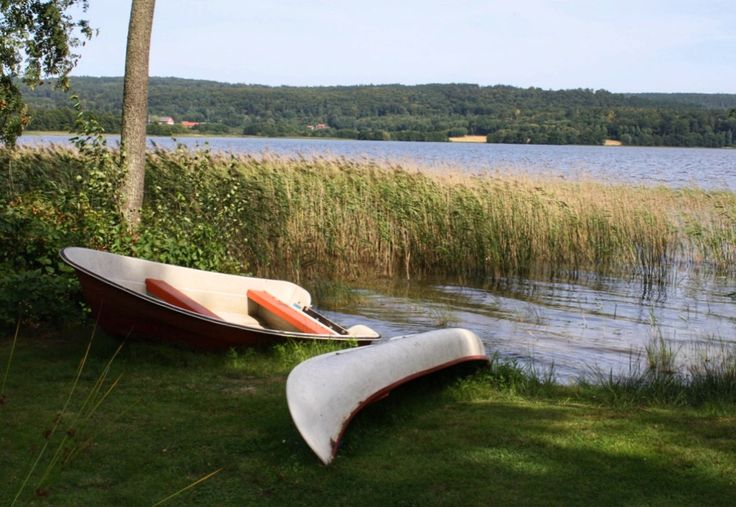 Vänga 77.1 Eine Pause am See