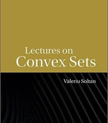Lectures On Convex Sets PDF