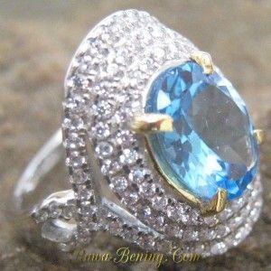 Cincin Topaz Silver 925 Ukuran Ring 12 untuk Wanita Lengkap dengan hasil cek keaslian batu mulia..  Harga Promo Diskon 50%  Info: http://goo.gl/Y3Tr0f Order cepat: 0888 1 6262 52 (WhatsApp/Call) Video: https://youtu.be/5TxfZcKJzac Melayani Pembeli dari Seluruh Indonesia.