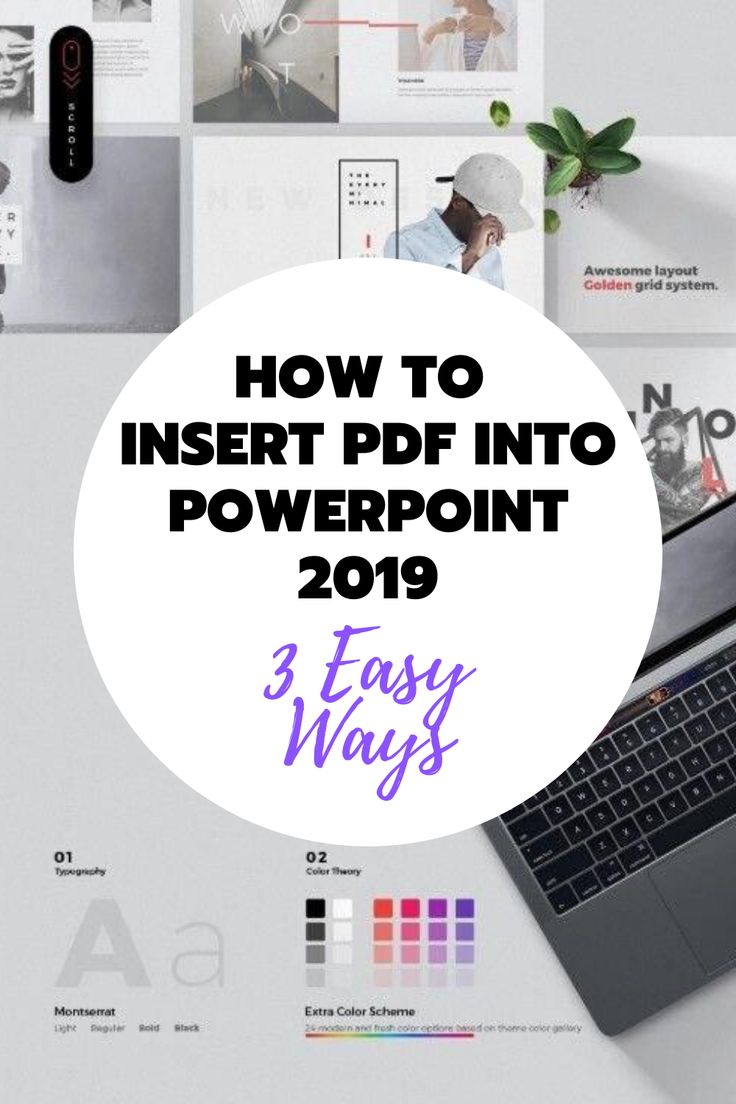 How to Insert PDF into PowerPoint 3 Easy Ways (Windows