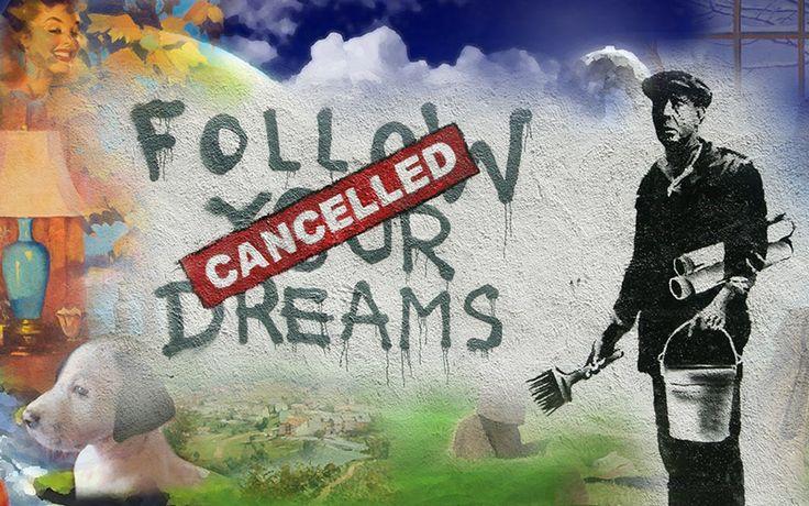 E più facile distruggere un sogno che creare una realtà. Otil Farg