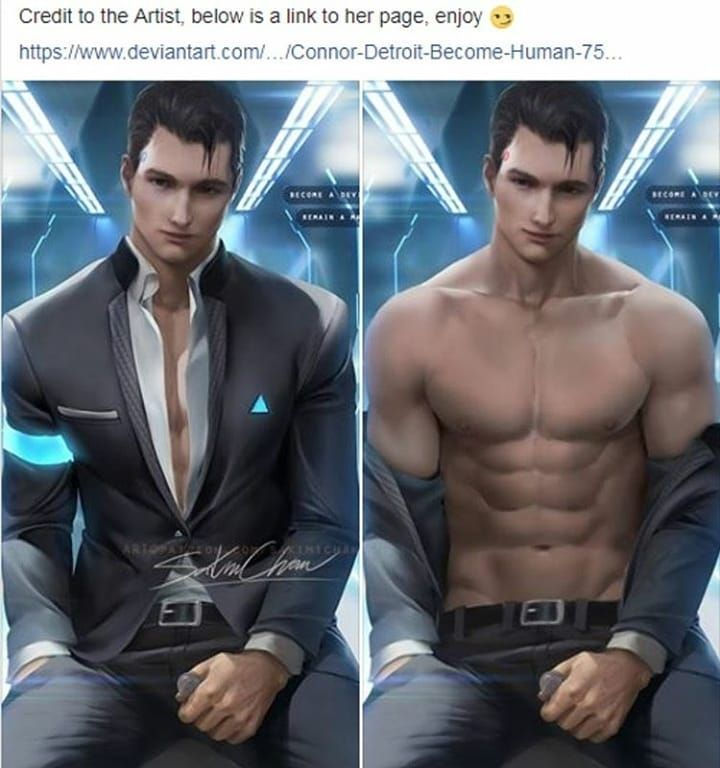 detroit become human connor rule 34 - Google Search | DETROIT