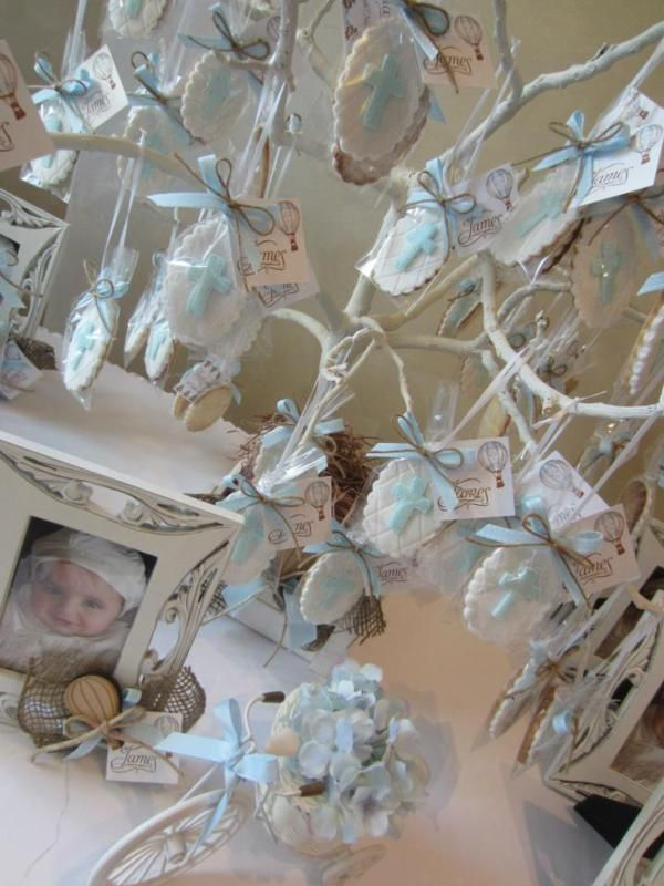 25 best ideas about christening party on pinterest for Baby girl baptism decoration ideas