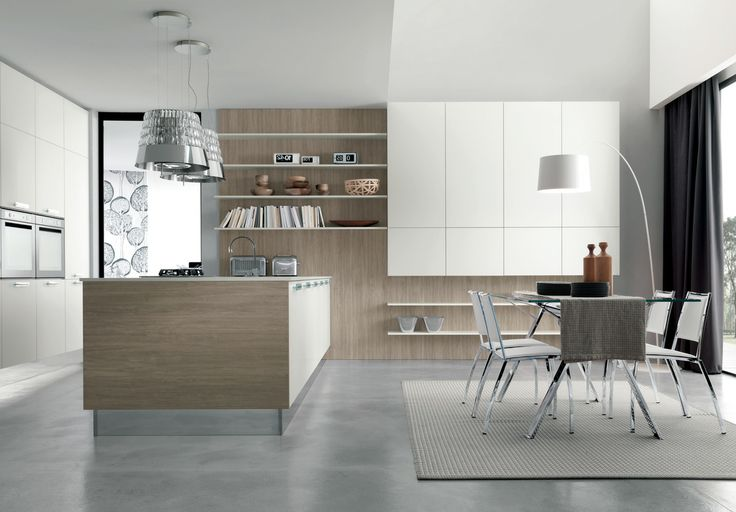 02 Contemporary kitchen VENUS by Zecchinon | Archisesto Chicago |