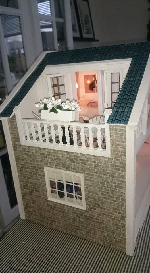 My own Lundby Dallas dollhouse.  a258b8b610043