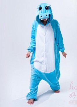 Blue Hippo Onesie for Adults – Unicorn Onesies