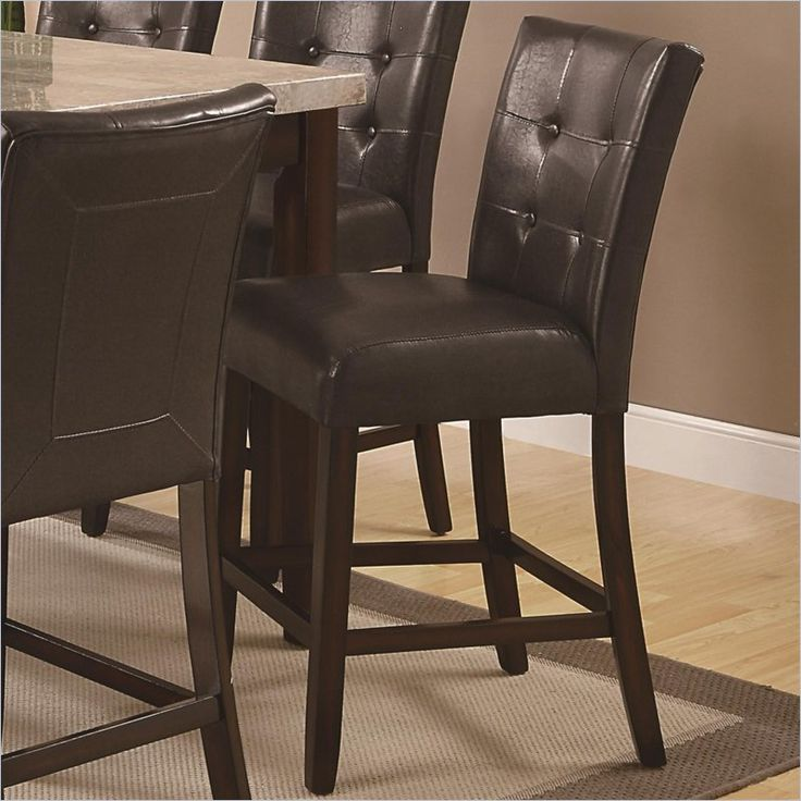 Coaster Milton 24 Quot Counter Stool In Cappuccino