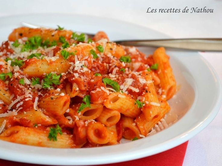 Pennes all'amatriciana