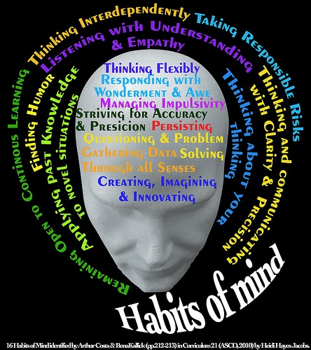 Check out my Habits of Mind Flip Flap Book that I have implemented