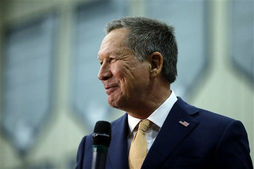 Gov. John Kasich won his first state of 2016 tonight — his home state of Ohio.  The Ohio governor was ahead of businessman and front-runner Donald Trump, 43.5 percent to 34.1 percent, with 4 percent of the vote reporting, according to the Associated Press.    Kasich,...