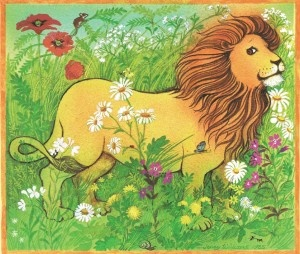Lion in the meadow - margaret mahy