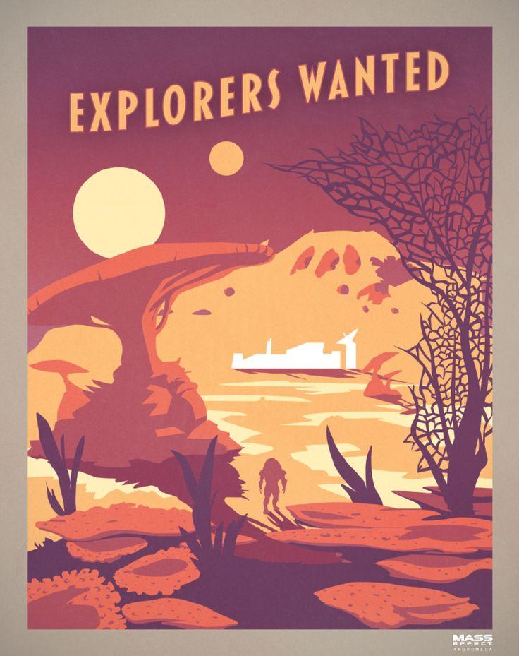 Mass Effect: Andromeda Propaganda Poster