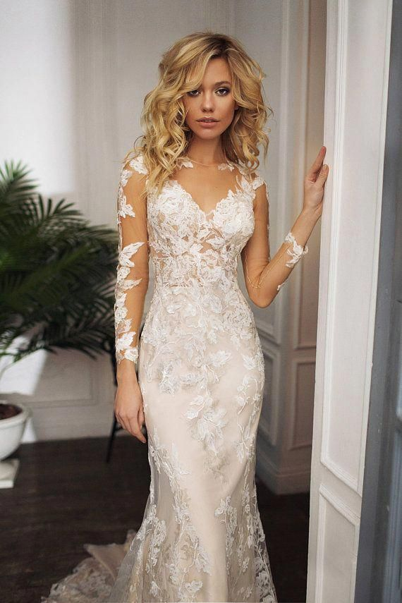 4b8396fca Pin by Laura Grimes on Wedding dresses lace in 2019