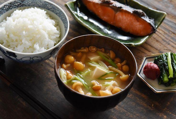 おいしい味噌汁のレシピ/作り方:白ごはん.com