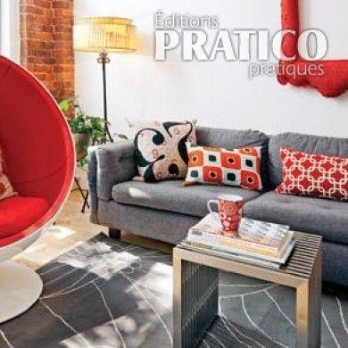 Salon à l'esprit rétro - Salon - Inspirations - Décoration et rénovation - Pratico Pratique