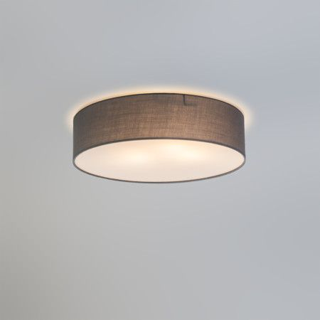 Deckenleuchte Drum Eco 40 Grau Deckenlampe Lampe Innenbeleuchtung