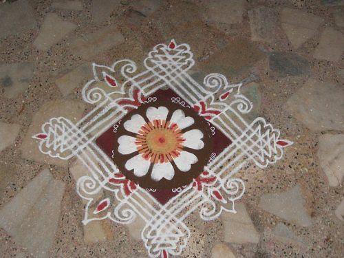 Pin by laura ayala on mandalas mandala pinterest for Door rangoli design images