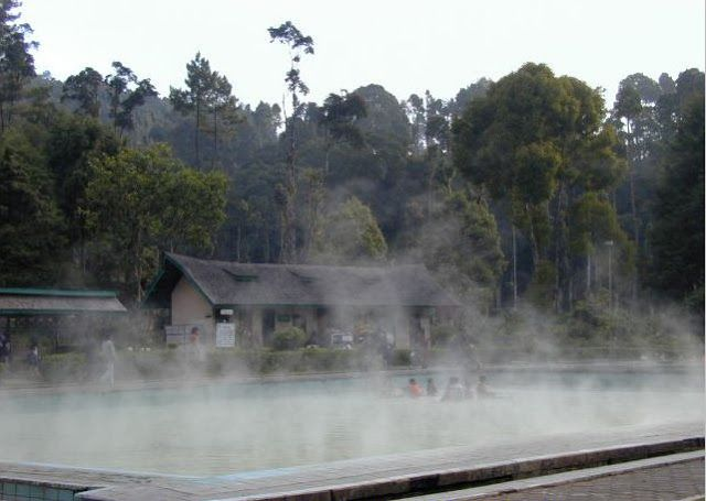 cibolang hot spring water