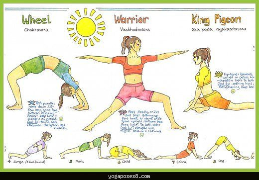 Yoga Poses And Names And Benefits 27 best junior girl sc...