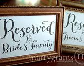 Where is My Seat Table Card Sign - Wedding Reception Seating Signage - Matching Numbers Available - Wedding Seating Sign SS01. $4.00, via Etsy.