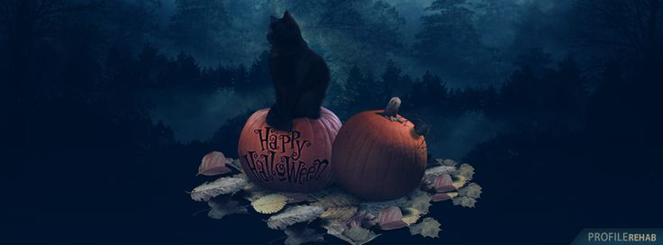 Happy Halloween Picture - Free Happy Halloween Images Free - Black Cats…