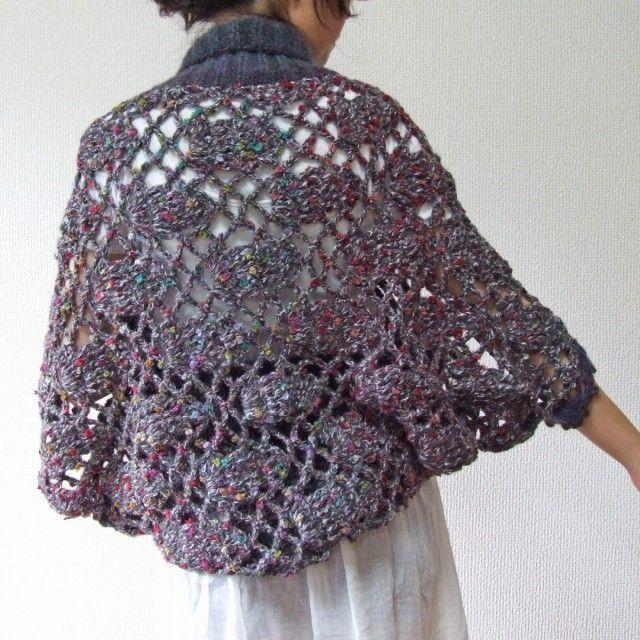 かぎ針編みのボレロ 冬 2013 タイプB - れいれい