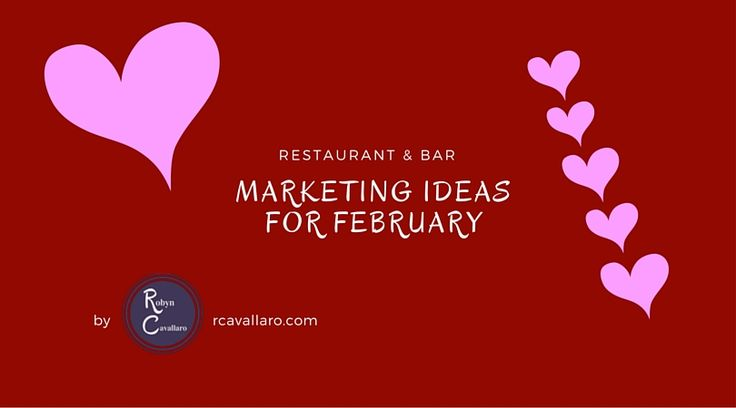 With all the popular February special days I have put together specials featuring not so popular days.  Get your customer talking about your restaurant on the off days as well as the popular ones.