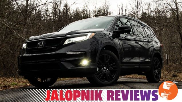 The 2020 Honda Pilot Black Edition Is Perfect For Practical Henchmen The 2020 Honda Pilot Is A Comfortable User Friendly Inoffen Honda Pilot New Zealand Rugby Black Edition