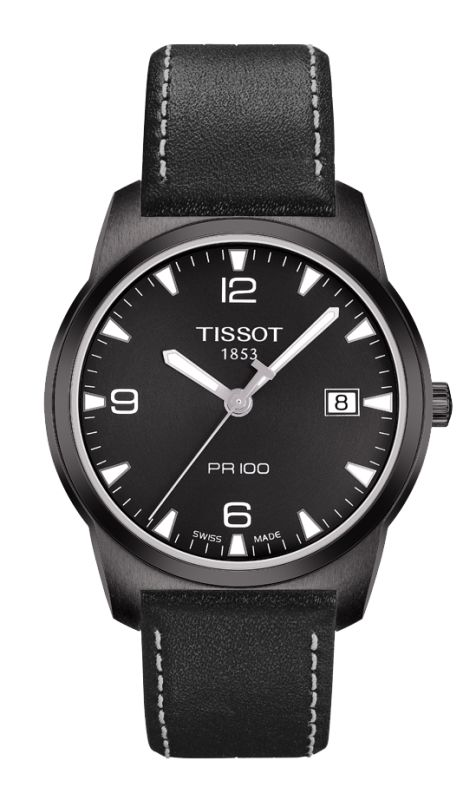 TISSOT ESPACE MONTRES BLACK DIAL WATCH T0494103605700 - Watch Direct