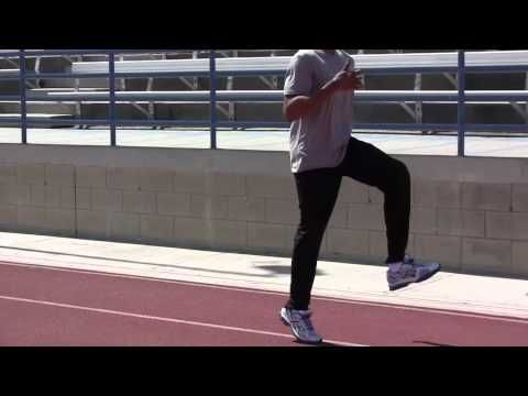 David Warren demonstrates sprint drills and plyometrics that help athletes develop speed, technique and increase overall performance in every sport. The drills used in the video provide the body with the strength, flexibility and the balance needed to execute optimal athletic movement. Once you incorporate these drills into your workout you will get great results.