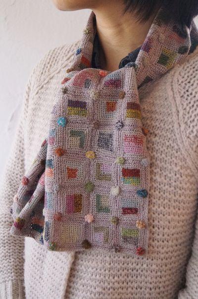 somuchyarnsolittletime:  (via sophie digard crochet scarf | Crochet accessories | Pinterest)