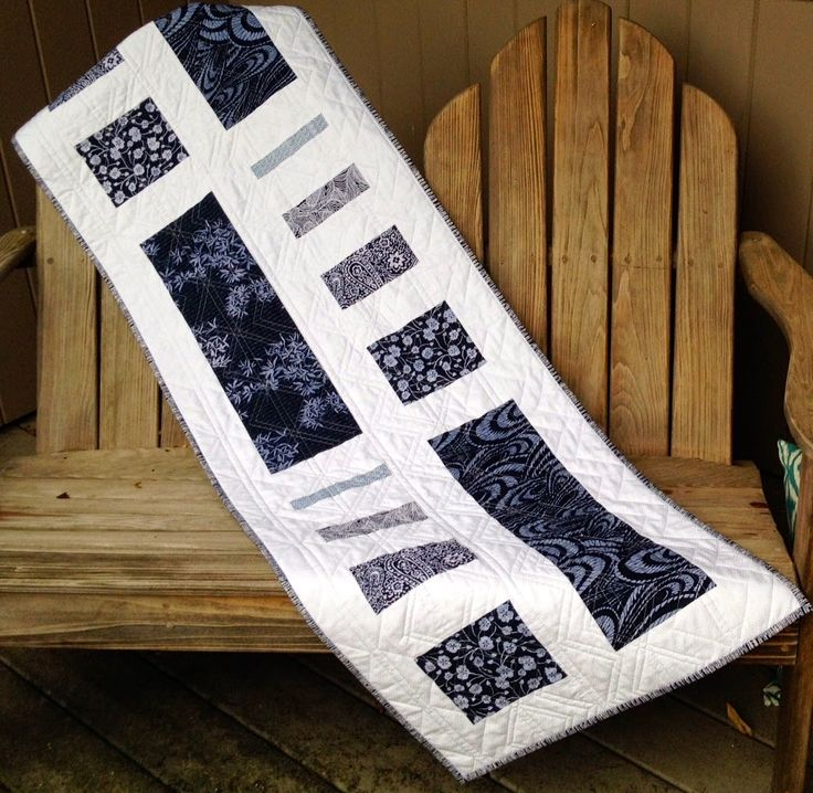 Tasty measures from modern quilt relish quilting ideas for Modern table runner