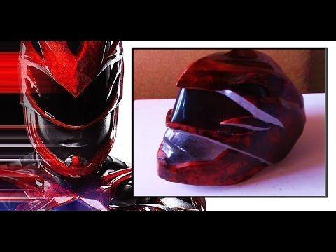 Power Ranger Helmet Under $20 - Tutorial - YouTube