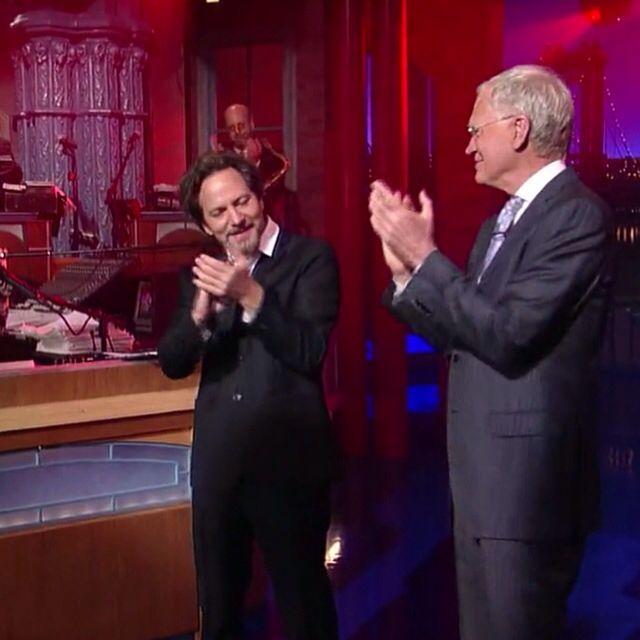 Eddie Vedder Peral Jam David Letterman